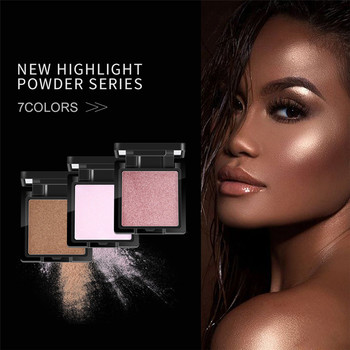 New Cosmetic High Light Powder Palette QI 1PC Shimmer Makeup Foundation Concealer Mention Powder Highlight Powder 0122#30